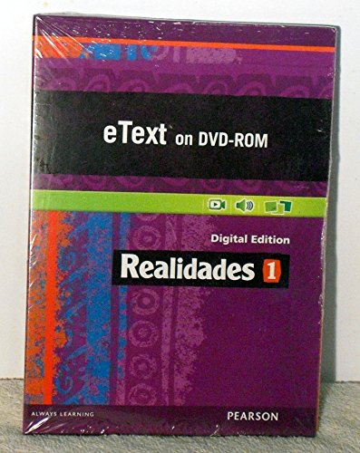 9780133204605: REALIDADES 2014 STUDENT EDITION ETEXT DVDROM LEVEL 1
