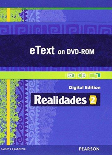 9780133204612: REALIDADES 2014 STUDENT EDITION ETEXT DVDROM LEVEL 2