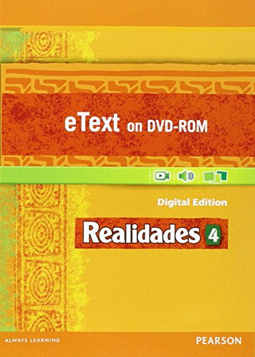 9780133204636: REALIDADES 2014 STUDENT EDITION ETEXT DVDROM LEVEL 4
