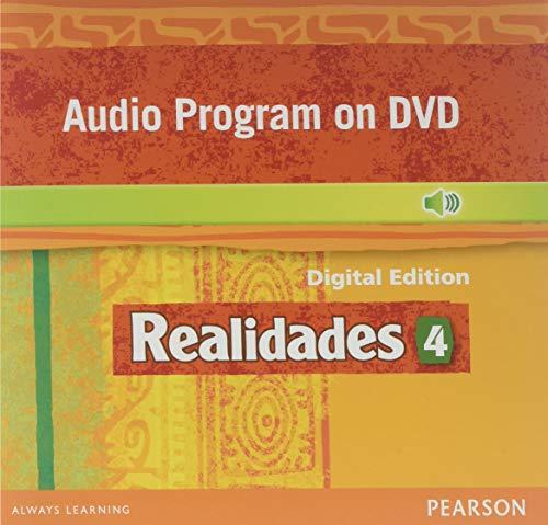 9780133204728: REALIDADES 2014 AUDIO PROGRAM ON DVD-ROM LEVEL 4