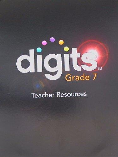 9780133207989: DIGITS 2012 TEACHER RESOURCE DVD GRADE 7