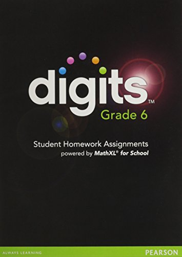 9780133208009: DIGITS 2012 MATHXL CD-ROM GRADE 6