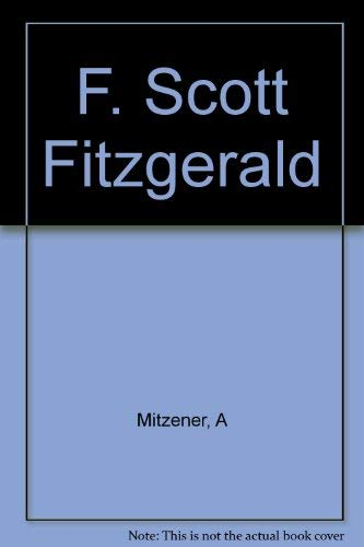 9780133208535: F. Scott Fitzgerald: A Collection of Critical Essays