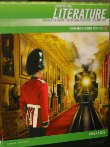 9780133208719: Prentice Hall Literature: The British Tradition, Vol.1, Common Core Edition