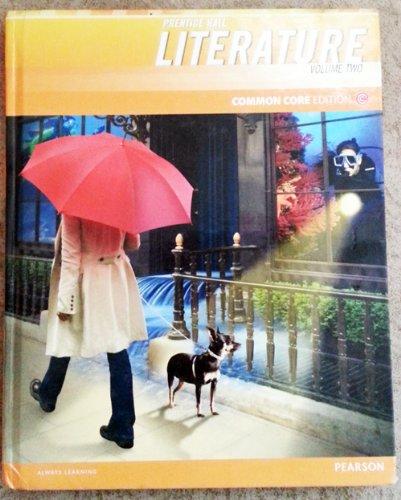 9780133208726: Prentice Hall Literature Common Core Edition, Grade 6 Volume 2