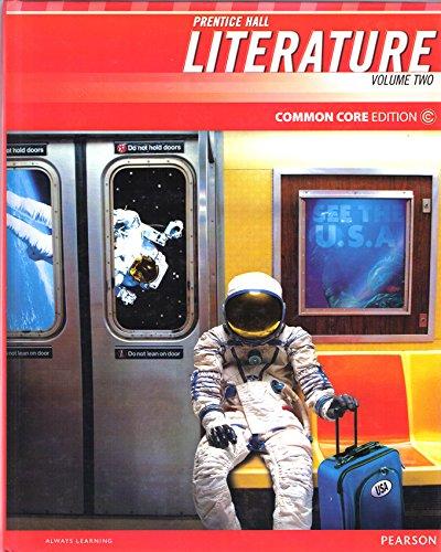 9780133208740: Prentice Hall Literature Common Core Edition, Grade 8 Volume 2