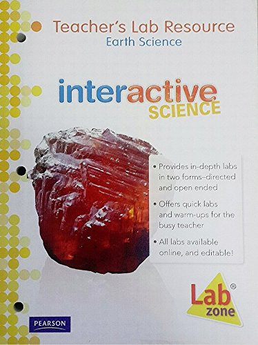 Interactive Science, Earth Science, Teachers Lab Resource