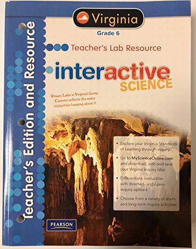 9780133213041: Interactive Science Virginia Ed., Grade 6, Teacher's Lab Resource