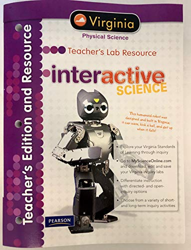 9780133213065: Interactive Science, Physical Science, Teacher's Lab Resource, Virginia Edition