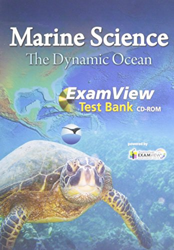 MARINE SCIENCE 2012 EXAMVIEW COMPUTERIZED TEST BANK CD-ROM GRADE 9/12: PRENTICE HALL
