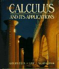 Brief Calculus and Its Applications: Larry J. Goldstein,
