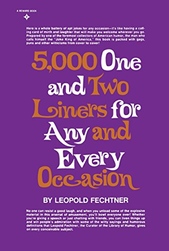 9780133215472: Five Thousand One and Two-Liners for Any and Every Occasion