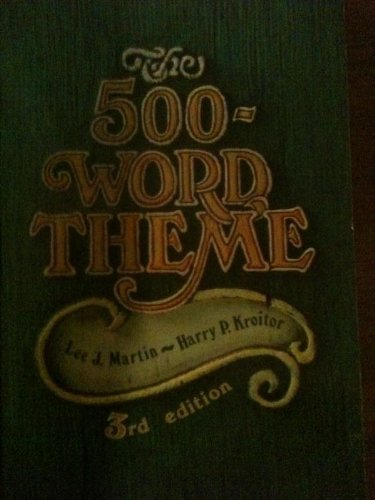 9780133215885: Five Hundred Word Theme