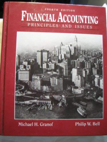 9780133218527: Financial Accounting: Principles and Issues (Prentice Hall series in accounting)