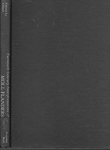 9780133222487: Twentieth Century Interpretations of Moll Flanders: A Collection of Critical Esssays