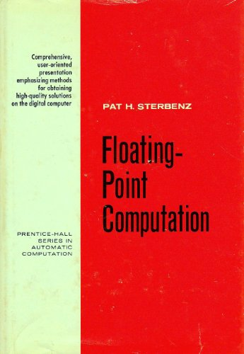 9780133224955: Floating-Point Computation (Prentice-Hall Series in Automatic Computation)