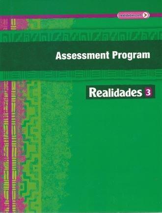 9780133225839: Realidades 3 Assessment Program