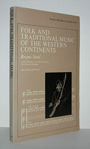 9780133229332: Folk and Traditional Music of the Western Continents