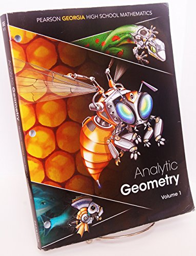 Analytic Geometry Volume 1 : Pearson Georgia: Randall I. Charles,