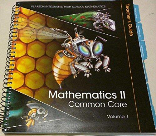 Mathematics II Common Core Volume 1 Teacher's: Randall, Charles I.