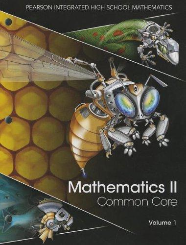 9780133234695: Mathematics II, Volume 1: Common Core