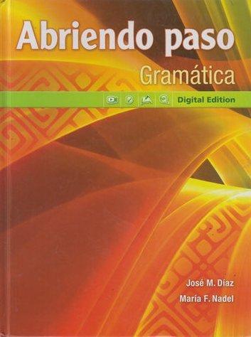 9780133237993: Abriendo paso Gramatica: Digital Edition