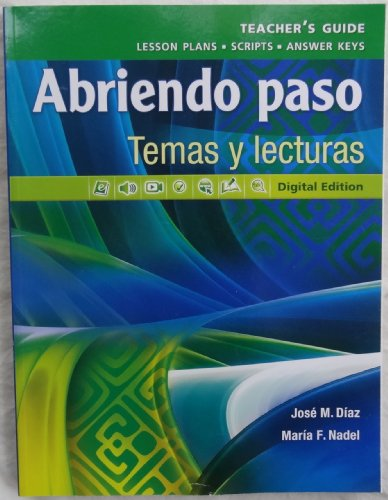 9780133238198: Pearson - Abriendo paso: Temas y lecturas - Teacher's Guide