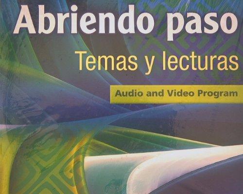 9780133238211: ABRIENDO PASO LECTURA 2014 AUDIO PROGRAM DVD GRADE 12