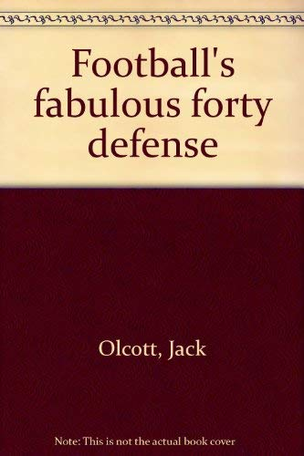 9780133240955: Football's fabulous forty defense