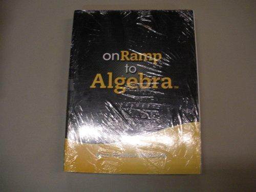 9780133241365: ONRAMP TO ALGEBRA STUDENT KIT GRADES 7/9