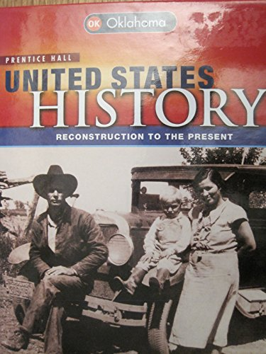 9780133241617: United States History (Reconstruction to the Present, Oklahoma Edition)