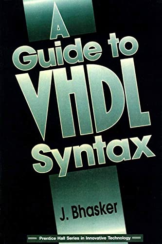 9780133243512: A Guide to VHDL Syntax