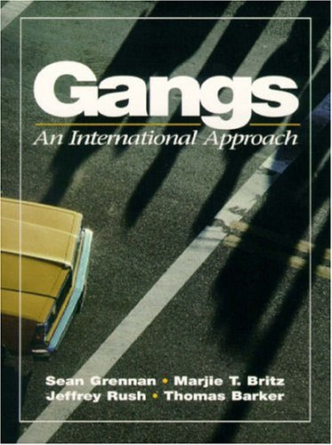 9780133248562: Gangs: An International Approach