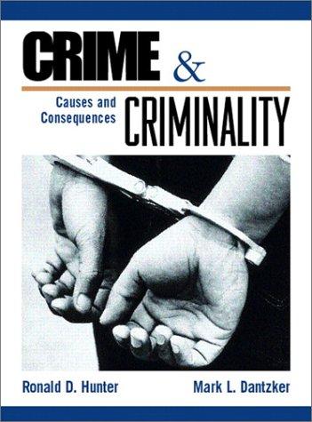 9780133248722: Crime and Criminality