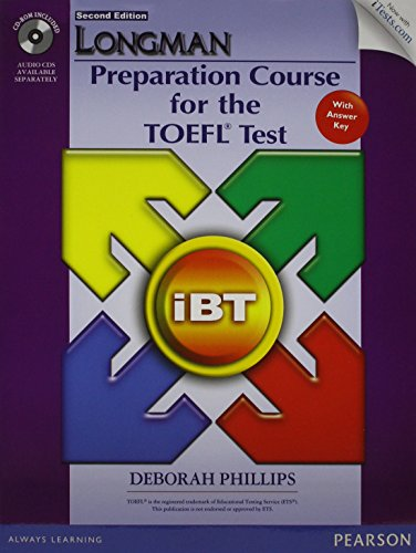 9780133248791: Value Pack: Longman Preparation Course for TOEFL iBT® Test (Student Book with CD-ROM and Answer Key, plus iTest and Class Audio) (2nd Edition)