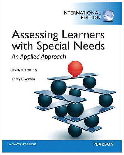 9780133248906: Assessing Learners with Special Needs: An Applied Approach