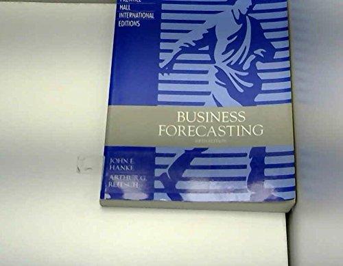 9780133249712: Business Forecasting