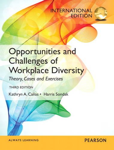 9780133250879: Opportunities and Challenges of Workplace Diversity