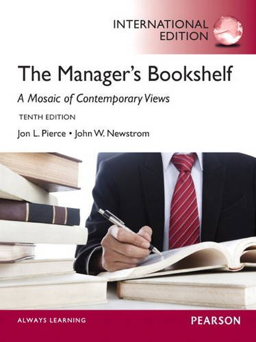 9780133250886: The Manager's Bookshelf