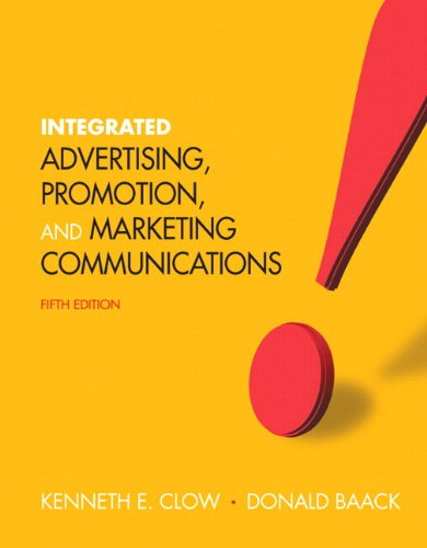 9780133250916: Integrated Advertising, Promotion, and Marketing Communications Plus NEW MyMarketingLab with Pearson eText -- Access Card Package (5th Edition)