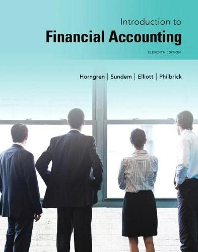 9780133251036: Introduction to Financial Accounting (11th Edition)