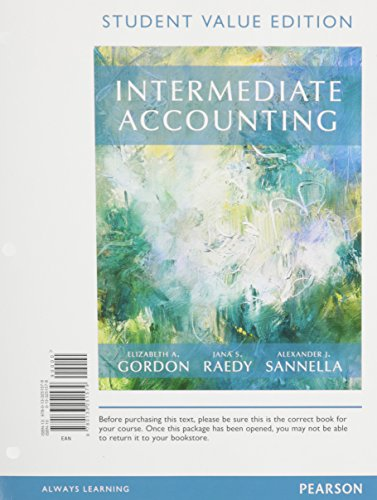 9780133251579: Intermediate Accounting, Student Value Edition