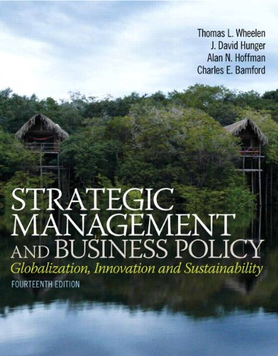 9780133254181: Strategic Management and Business Policy: Globalization, Innovation and Sustainability Plus 2014 MyManagementLab with Pearson eText -- Access Card Package (14th Edition)