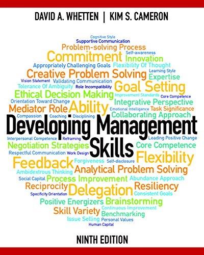 9781408283509: developing management skills with mymanagementlab.