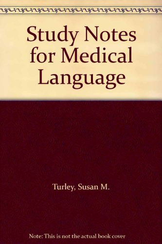 9780133254921: Study Notes for Medical Language