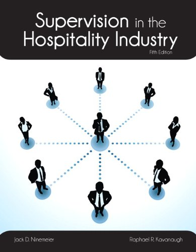 9780133255089: Supervision in the Hospitality Industry with Answer Sheet (AHLEI) (5th Edition) (AHLEI - Hospitality Supervision / Human Resources)