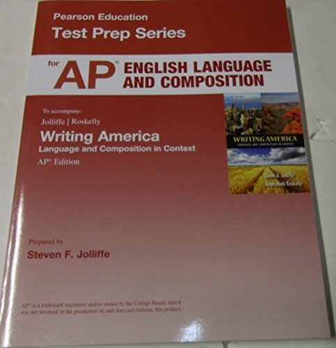 9780133258929: Test Prep Series for English Language and Composition to Accompany Writing America: Composition in Context AP Edition