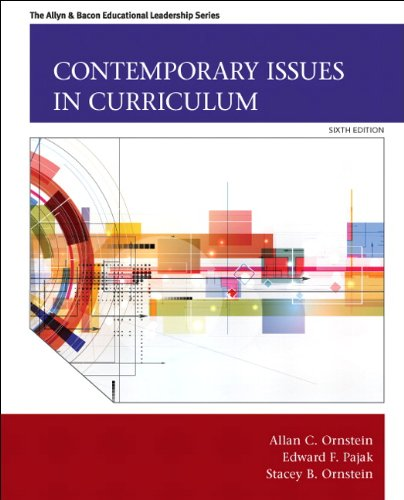 9780133259971: Contemporary Issues in Curriculum (6th Edition) (Allyn & Bacon Educational Leadership)
