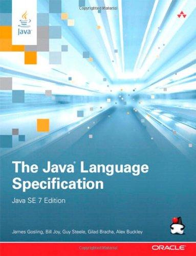 9780133260229: The Java Language Specification, Java SE 7 Edition