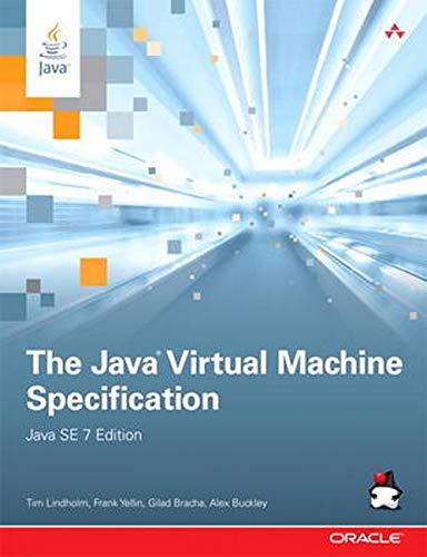 9780133260441: The Java Virtual Machine Specification, Java SE 7 Edition